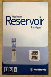 medtronic reservoir paradigm